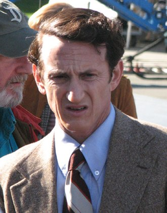 Sean Penn - Filming Milk, 2008