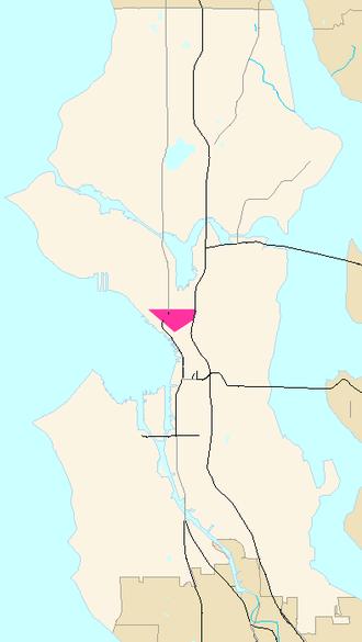 Denny Regrade, Seattle - Denny Regrade