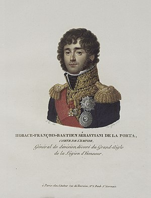 Franco-Persian alliance - The French General Horace Sebastiani negotiated a Franco-Ottoman alliance with Selim III.