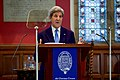 Secretary Kerry Delivers an Address to the Oxford Union Membership in the Debating Chamber (26886837021).jpg