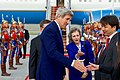 Secretary Kerry Greets Mongolian Officials Upon Arrival at the Airport (26855615184).jpg