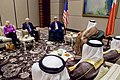 Secretary Kerry Sits With Bahraini Foreign Minister Sheikh Khalid bin Ahmed al-Khalifa (26220630761).jpg