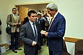 Secretary Kerry Speaks With Ukrainian Foreign Minister Klimkin at NATO Headquarters in Brussels (14318606819).jpg