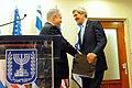 Secretary Kerry is Greeted by Israeli Prime Minister Netanyahu (11712339725).jpg