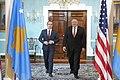 Secretary Pompeo Meets with Kosovo Prime Minister Avdullah Hoti (50305041128).jpg