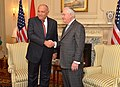 Secretary Tillerson Shakes Hands With Egyptian Foreign Minister Sameh Shoukry in Washington (33151168385).jpg