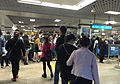 Security check queue of Sihui East Station (20160428182943).jpg
