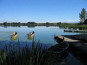 Seeburg, Lower Saxony - Image: Seeburger See (2005 09 18)