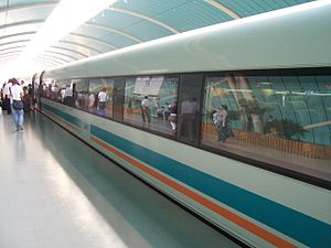 Transrapid - Transrapid SMT in Shanghai (Side)