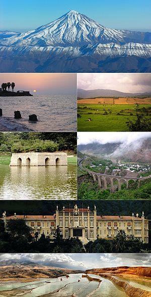 Mazandaran Province - Image: Selected Mazandaran