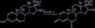 Organofluorine chemistry - Image: Selectfluor Rxn