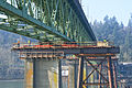 Sellwood Bridge being slid onto temporary support structure.jpg