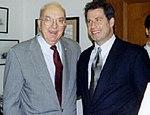 Senator Jesse Helms with John Travolta.jpg