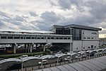 Sendai Airport Station exterior (30634390236).jpg