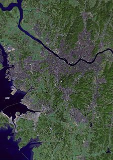 Han River (Korea) The River in Seoul, South Korea