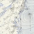 September 7, 1953 Hurricane Carol weather map.jpg