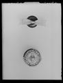 Serafimerorden bandrosett, ordensknapp Serafimerorden mfl - Livrustkammaren - 36473.tif