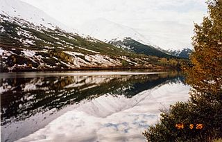 lake in Chugach National Forest, Alaska