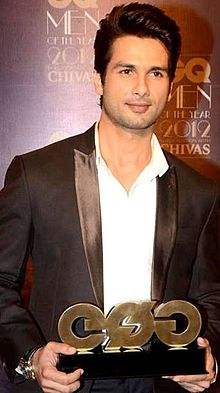 Shahid Kapoor at GQ Men of the Year 2012.jpg