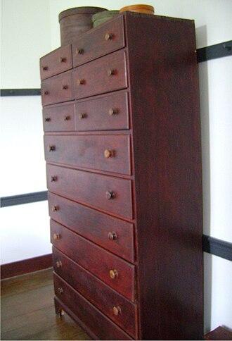 Shaker furniture - Image: Shaker cabinet
