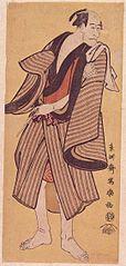 Ichikawa Ebizō I as Ranmyaku no Kichi