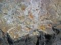 Shatterconed sandstone (Mississagi Formation, Paleoproterozoic, ~2.3-2.4 Ga; Ramsey Lake Road outcrop, Sudbury, Ontario, Canada) 107 (40801969613).jpg