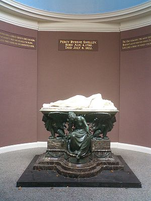 1822 in poetry - Shelley Memorial, University College, Oxford