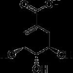 Strukturformel Shikimisäure