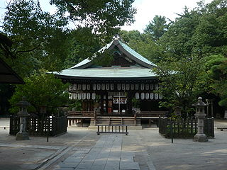 Shiramine Shrine Shinto shrines in Kyoto, Japan