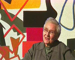 Shirley Jaffe (artist) - Jaffe in 1998
