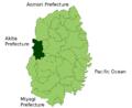 Shizukuishi in Iwate Prefecture.png