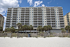 Bluegreen Corporation - Shore Crest Villas at North Myrtle Beach, located on Ocean Drive in South Carolina, is one of Bluegreen Corporation's timeshare properties.