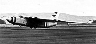 Short SB.1 - Short SB.1 during landing c.1951