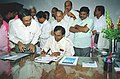 Shri K. Chandra Shekhar Rao takes over the charge of Union Minister of Shipping in New Delhi on May 24, 2004.jpg
