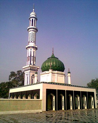 Khanqah - Shrine of Islamic Naqshbandi saints of Allo Mahar Sharif