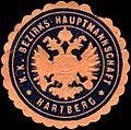 Siegelmarke Kaiserlich Königliche Bezirks - Hauptmannschaft - Hartberg W0225498.jpg
