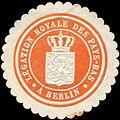 Siegelmarke Legation royale des Pays - Bas a Berlin W0223805.jpg