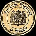 Siegelmarke Preußische Regierung zu Münster W0205272.jpg