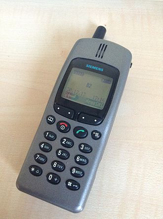 Form factor (mobile phones) - Image: Siemens S25