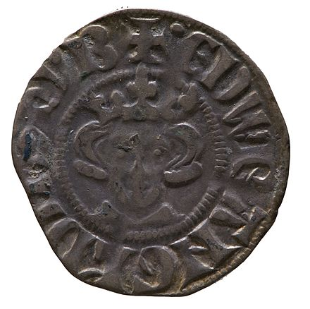 Silver penny of Edward I York Museums Trust Silver penny of Edward I (YORYM 2014 452 203) obverse.jpg