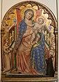 Simone dei crocifissi, madonna col bambino, angeli e il donatore giovanni da piacenza, 1378-80 ca., dalla madonna del monte 01.jpg
