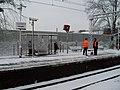 Singer station in the snow - geograph.org.uk - 1158139.jpg