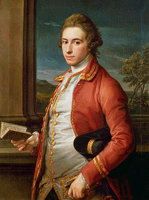 Sir William Fitzherbert, 1st Baronet - Portrait by Pompeo Batoni, c.1768, Tissington Hall, Derbyshire