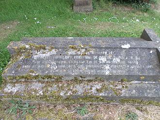 Sir Henry de Bathe, 4th Baronet - Grave of Sir Henry Percival de Bathe and his wife Charlotte
