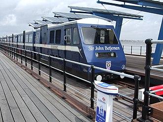Severn Lamb - Image: Sir John Betjeman Train On Southend Pier