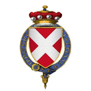 John Neville, 3rd Baron Neville de Raby - Arms of Sir John Neville, 3rd Baron Neville de Raby, KG.