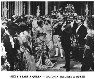<i>Sixty Years a Queen</i> 1913 film