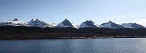 De syv søstre - Seven Sisters mountain range