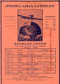 Aerolot Former Polish airline