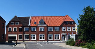 Skovsgård Village in North Jutland, Denmark